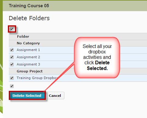 CourseAdmin-DeleteAll-Dropbox2
