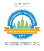 OER Creative Innovation Award